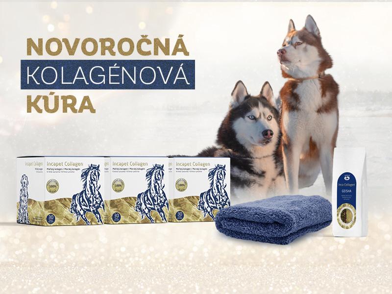 Začnite rok s kolagénovou kúrou pre vaše zvieratko s darčekmi naviac